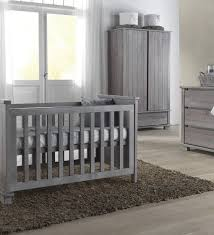 grey nursery furniture. Kidsmill Malmo Grey Shabby Chic Nursery Furniture Set - Crux Baby