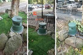 TCA thi công dự án lắp đặt loa ngoài trời, loa sân vườn Bose tại quán cafe