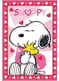 snoopy love rose