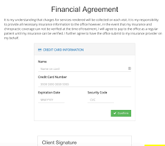 Credit Card On File Form Templates Capturing Credit Cards With Consent Forms Intakeq