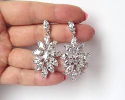 full size of large rhinestone chandelier earrings long bridal black top raise your wow factor home