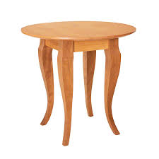 french country round end table