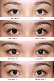 eyelash curler results. for results, i found that it does not immediately give the same dramatic effects as shiseido, however if used longer or a couple of times especially at eyelash curler results d