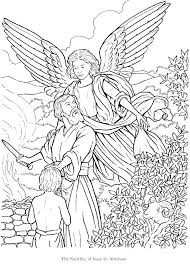 Free Printable Angel Coloring Pages Framesforeverinfo