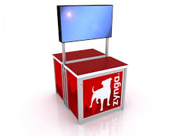 Tv Display Stand For Trade Shows New TV Stands For Trade Shows American Image Displays