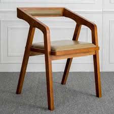 louis fashion nordic solid wooden contracted and contemporary american real wood chair desk chair computer chair