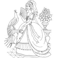 Small Picture Free Printable Coloring Pages Princess coloring page