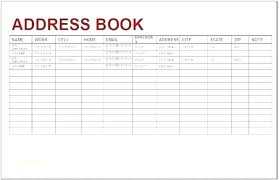 Printable Address Book Template Excel Excel Template For Addresses Phone Book Plate Excel Spreadsheet