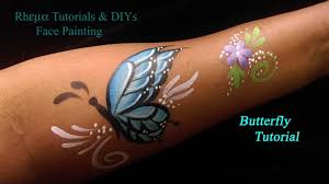 Face Painting Tutorial Kids Tattoo Butterfly