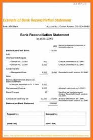 Bank Reconciliation Template Unique Accounting Bank Reconciliation Form Fearsome Templates Format Excel