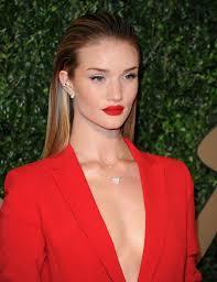 rosie huntington whiteley red lipstick perfect eye makeup main rosie huntington whiteley no makeup rosie huntington