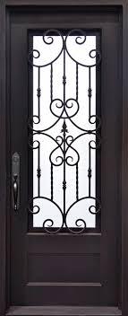 iron front doors. Estrella. Estrella-door Iron Front Doors