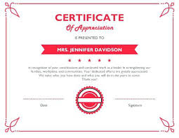 Certificate Of Appreciation Templates Free Download Appreciation Fill In The Blank Certificates Certificate Of Templates