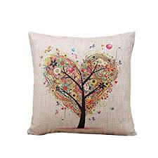 Small Picture Oyedens Heart Tree Throw Pillow Case Sofa Cushion Cover Home Decor