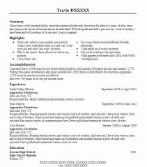 ... Cute Electrician Resume Best Apprentice Example LiveCareer ...