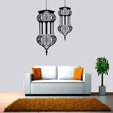 muslim culture wall stickers decorative stickers waterproof removable wall decal home deaor
