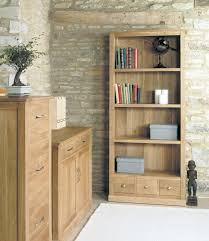 bonsoni mobel oak large 3 drawer bookcase bonsoni mobel oak hideaway