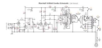 18watt schematics etc 18watt lite this is the stock circuit out the trem channel