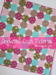 Super Easy Quilt Patterns Free Best Quackadoodle Quilt Snowball Quilt Tutorial