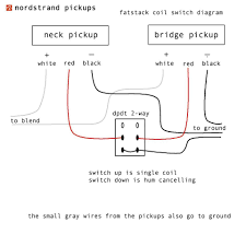 pickup wiring diagrams and schematics nordstrand audio health shop me Pick Up Wiring Diagram 3 pickup wiring diagrams and schematics nordstrand audio
