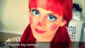 raggedy ann makeup tutorial