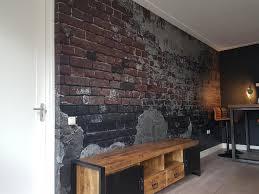 Fotobehang Van Oude Industriële Muur