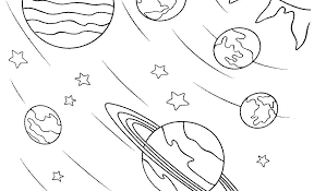 Solar System Printable Coloring Pages Click The Planet Coloring