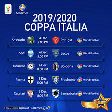 StarTimes - #CoppaItalia Fixtures Enjoy the thrill and...