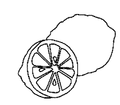 Small Picture Lemons Fruit Coloring Pages To Kids Learn To Coloring