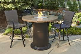 dining room colonial fire pit table with round top regarding bar height set decorating outdoor tables