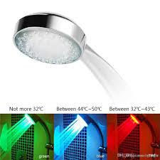 7 Farbwechsel Bunte Led Duschkopf Led Wasser Duschkopf Licht Leuchten Led Wasserhahn Licht