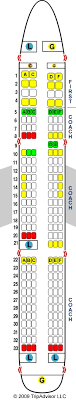 321 Seating Chart Air Canada 321 Seat Map