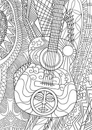 Small Picture 318 best Music Coloring Pages for Adults images on Pinterest