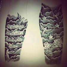 tattoo sleeve designs clouds. Exellent Clouds Half Sleeve Tattoo Stencils For Men  Google Search And Tattoo Sleeve Designs Clouds E