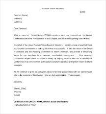 Cover Letter Sponsorship Sponsorship Letter Templates Doc Free Premium High School