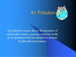 environmental pollution causes effects and control measures air pollution