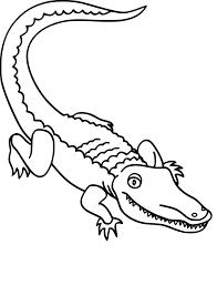 Coloriage Alligator Dessin Imprimer Sur Coloriages Info