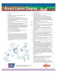 Ajcc Breast Cancer Staging 8th Edition Chart Pin On Breast Cancer
