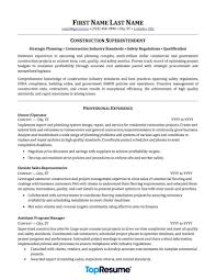 resume contractor contractor and construction resume samples professional resume