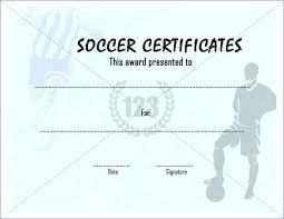 soccer awards templates soccer certificate templates igotz org