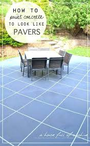 concrete slab patio makeover. Unique Makeover Surprising Painting Concrete Patio Slab What To Do With In  Backyard Fascinating And Concrete Slab Patio Makeover