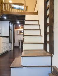 Download Tiny House Staircase Zijiapin Stairs 2 Luxury Idea 7 It Looked  Like A Normal On Wheels Then I Saw What Was Home