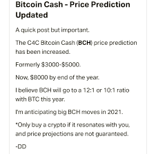 Merchants and users are empowered with low fees and reliable confirmations. Crazy 4 Cryptos Patreon Price Prediction For Bch Bitcoincash
