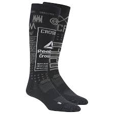 Reebok Crossfit Socks Size Chart Reebok Crossfit Compression Knee Socks 1 Pack