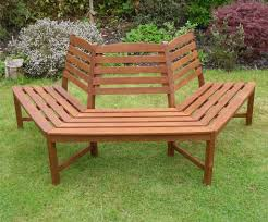tree seats garden furniture. Modren Seats Henley Half Round Tree Seat Hardwood Garden Bench 12 Price Sale For  Seats Furniture Intended X