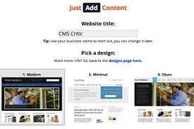 Just Add Content Review - CMS Critic