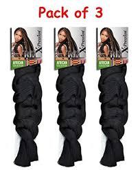 Pack Of 3 X Pression Braiding Hair By Sensationnel Color 8 Ash Brown