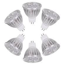 Pin Light Recessed Ac Dc 12v 4 Watt Led Recessed Light Bulb Mr16 Gu5 3 Bi Pin
