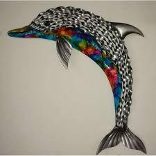 dolphin metal wall art  on dolphin wall art metal with dolphin metal wall art l furniture point nz