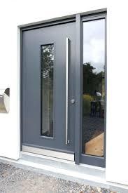 Front Doors: Awesome Modern Aluminium Front Door For Great Looking ...